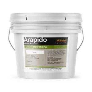 nbspSprayable Polished Concrete Microtopping | Arapido Duraamen | Duraamen Engineered Products Inc