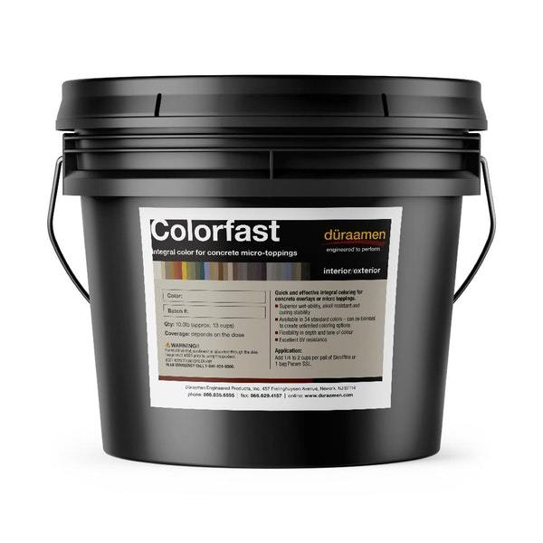 nbspIntegral Color for Concrete Microtoppings | Colorfast Duraamen | Duraamen Engineered Products Inc