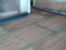nbspInstallation of Selfleveling concrete over a plywood Subfloor Boston MA | Duraamen Engineered Products Inc