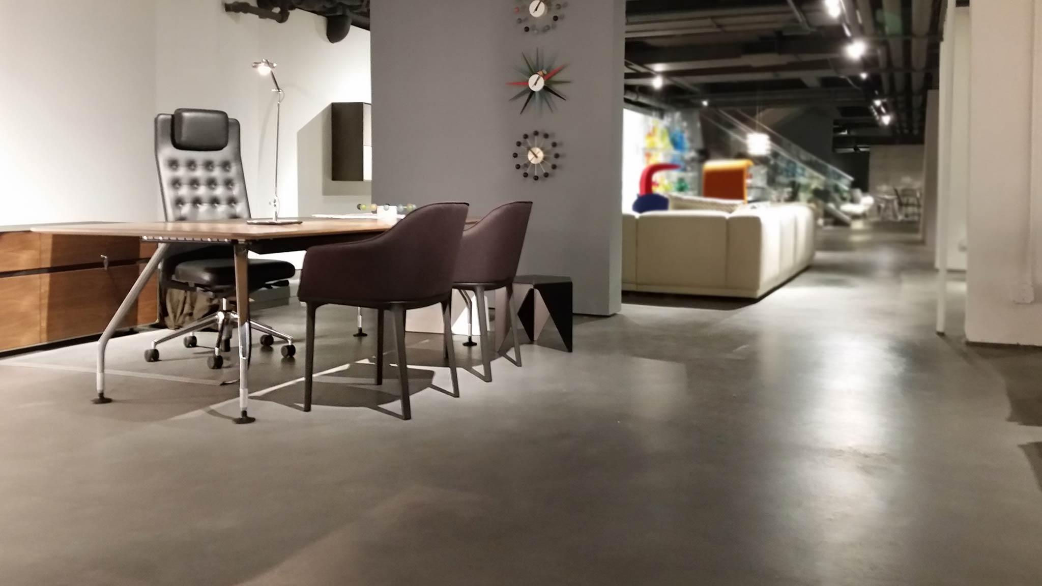Domus Design Retail Store, sprayable polished concrete floors by Duraamen, img-0011