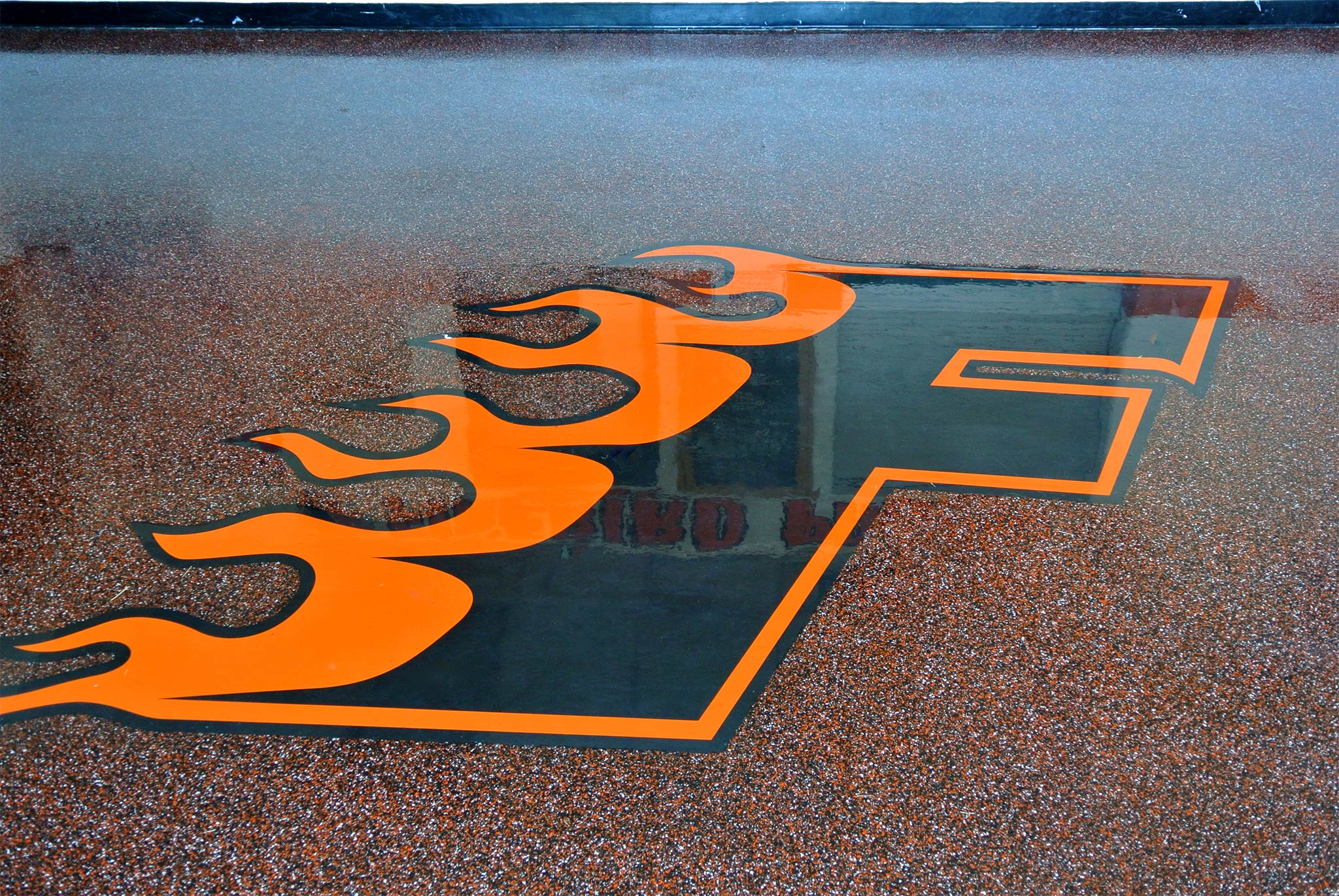 nbspVinyl Chips Epoxy Flooring in a Fire Station in York PA | Duraamen Engineered Products Inc